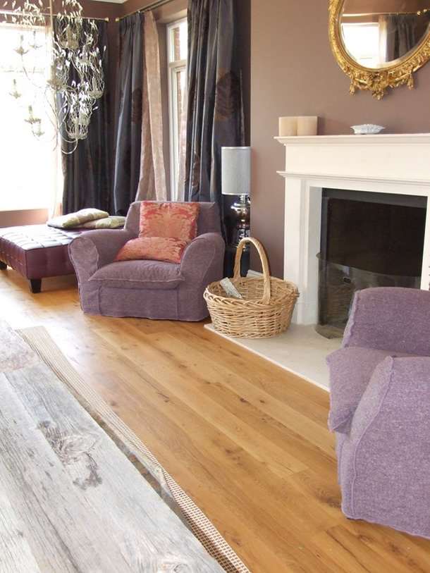 02 Reclaimed French oak boards for a house in Haslemere, Surrey