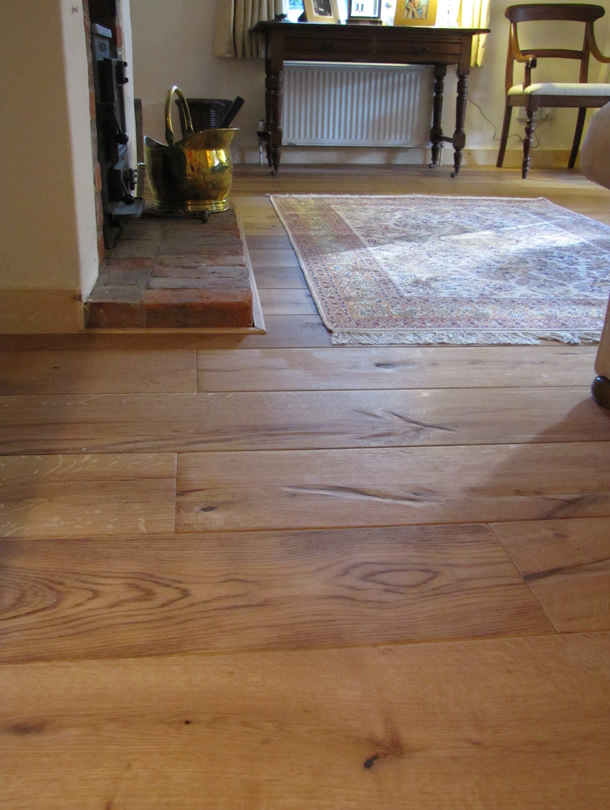 01 Cabin oak wood floors for a house in Farnham, Surrey