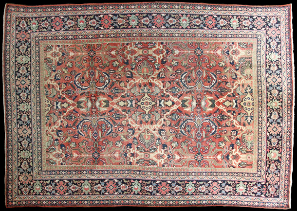 01 A690 Antique Mahal Carpet