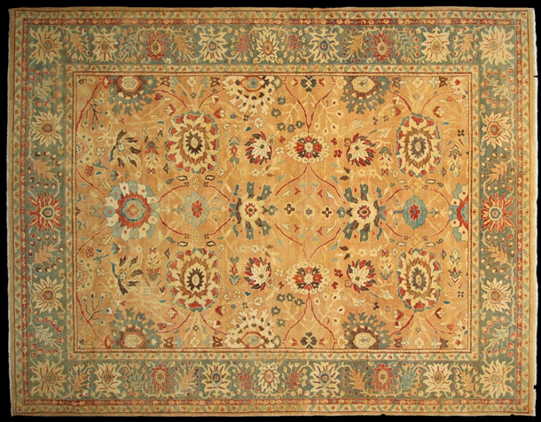 01 S2241 Contemporary Agra Design Carpet