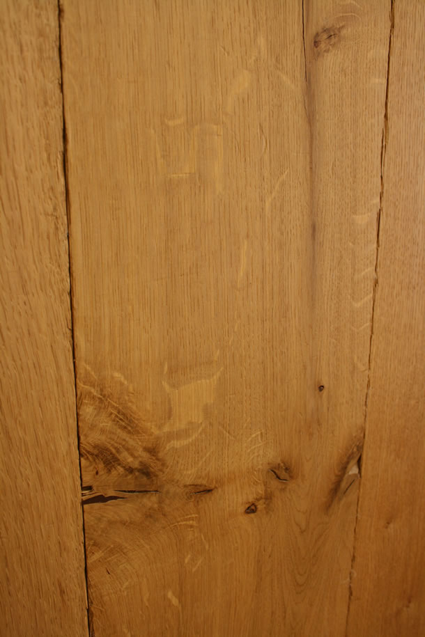 02 Semi Solid Rustic French Oak Distressed Tumbled Planks Finished With Natural Wax Oil