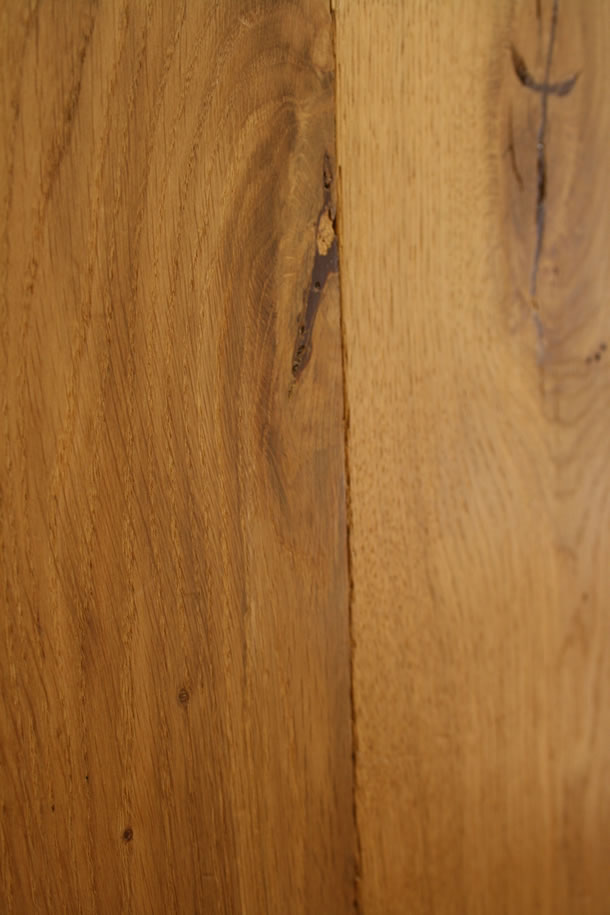 03 Semi Solid Rustic French Oak Distressed Tumbled Planks Finished With Natural Wax Oil