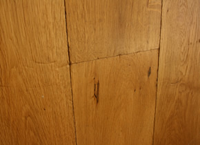 Semi Solid Rustic French Oak Distressed Tumbled Planks Smoked