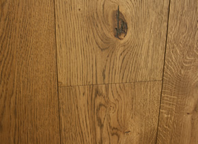 Engineered Rustic French Oak Finished With Brushed Barley