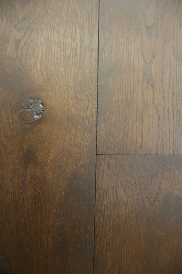 02 Engineered Rustic French Oak Double Smoked and Black