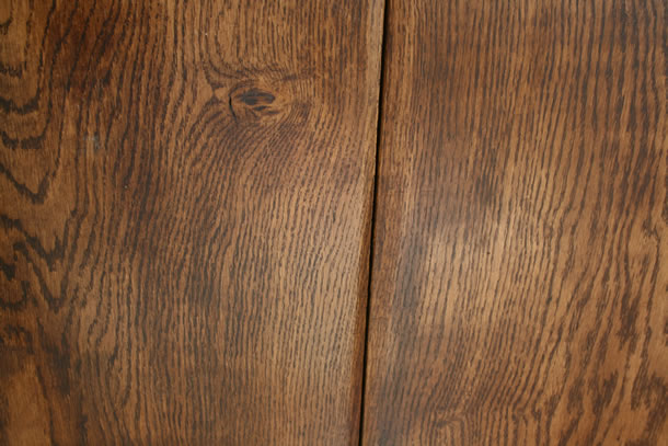 01 Solid Giant Oak Planks Hand Forged Waney Edge