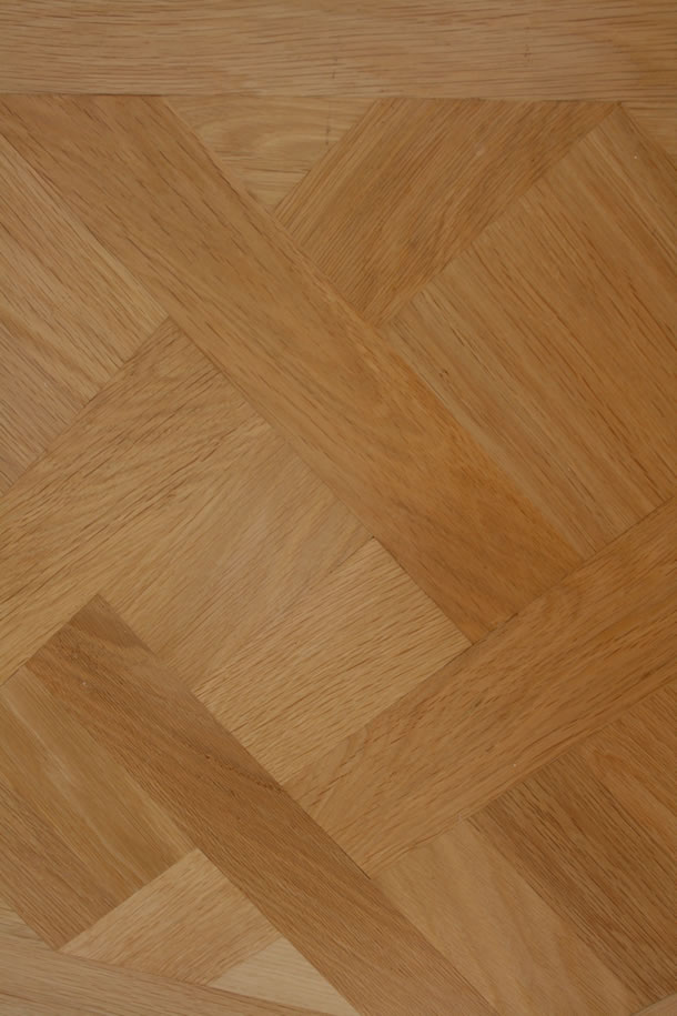 02 Solid Parquet De Versailles Select Oak With Lacquer Finish