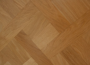 Solid Parquet De Versailles Select Oak With Lacquer Finish