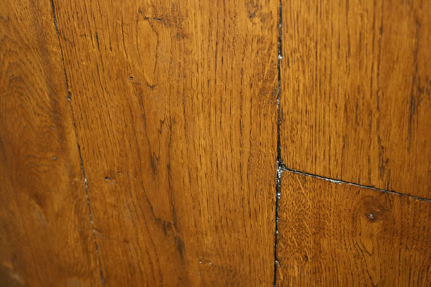 01 Solid Rustic French Oak Distressed and Tumbled Planks With Old English Wax