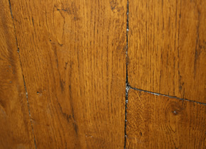 Solid Rustic French Oak Distressed and Tumbled Planks With Old English Wax