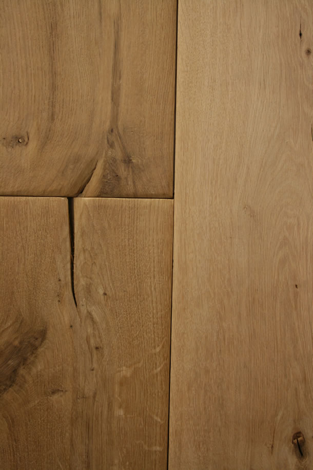 03 Solid Rustic French Oak Hand Scraped Planks
